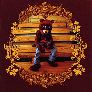 Kanye West - The College Dropout Poster - Unframed 11x11 Inches Canvas Art Print