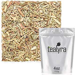 Tealyra - Pure Lemongrass - Loose Leaf Herbal Tea - Wellness Healthy Herb Tea - Caffeine-Free - Organically Grown - 112g (...