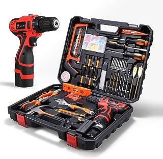 Sponsored Ad – HOH-Tech 16.8V Cordless Drill Driver Tool Kit, Power Tools Combo Kit 60-Piece Household Tool Kit Set