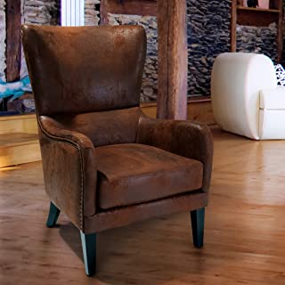 Christopher Knight Home Lorenzo Club Chair, Brown