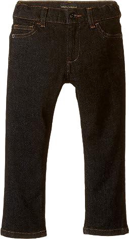 Back to School Black Jeans (Toddler/Little Kids)