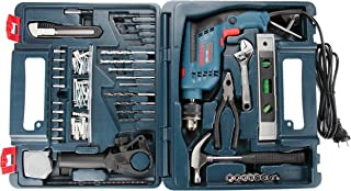 Bosch GSB 13 RE Reversible Professional Impact Plastic Drill, 600 watts, 13mm (Green)