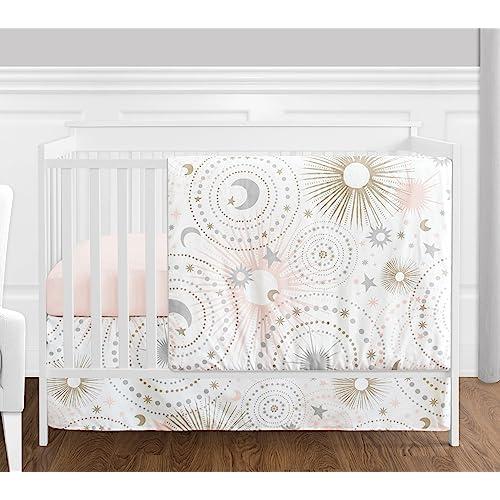4c996d879c509 Pink and Gold Nursery Bedding: Amazon.com