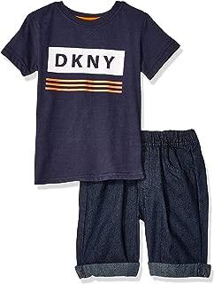 dkny denim shirt dress
