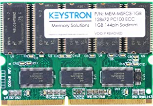 MEM-MSFC3-1GB 1GB DRAM MEMORY FOR MSFC3, 2A, SUP720 (-3B), SUP32 (-GE,-10GE) RAM Upgrade by Keystron