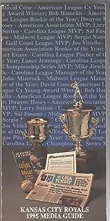 Kansas City Royals Media Guide 1995 MLB