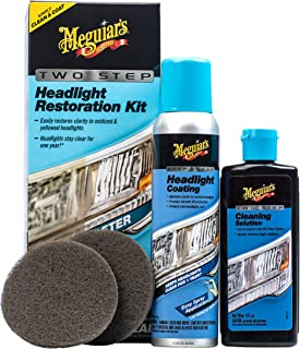 headlight polish and restoration kit
