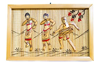 DC ECO Home Decor Wall Hanging CALTURAL Art Work Gift Item, Bamboo Artwork for Living Room, Hand Made(Made in India)