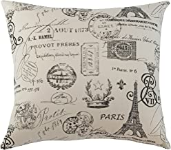 The Well Dressed Bed Anne Marie Accent Pillow, 18-Inch by 18-Inch