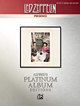 Led Zeppelin -- Presence Platinum Guitar: Authentic Guitar TAB (Alfred's Platinum Album Editions)