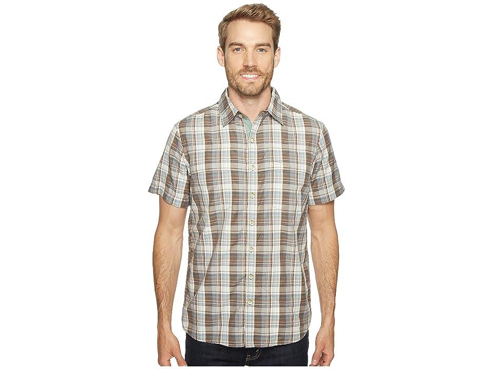 Ecoths Carrington Short Sleeve Shirt (Brindle) Men