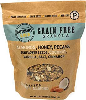 Autumn's Gold Grain Free Toasted Coconut Almond Granola 1lb 4oz
