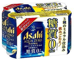 アサヒ アクアゼロ 350ml×6缶 2100ml