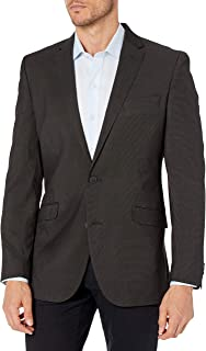 Kenneth Cole Reaction Men's Techni-Cole Stretch Slim Fit Suit Separate Business Suit Pants Set