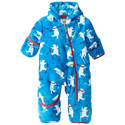 12-18 Mo. BABY BOYS Blue The North Face Fleece 'Lil Cozy' One-Piece /& Hat