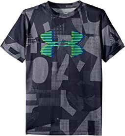 Under Armour Kids - Tech Big Logo Printed Tee (Big Kids)