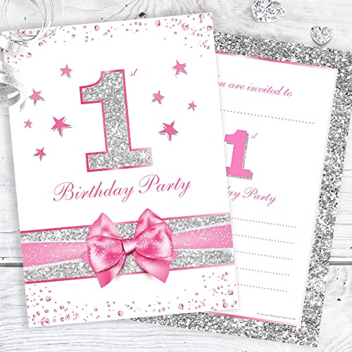 1st Birthday Invites Amazoncouk