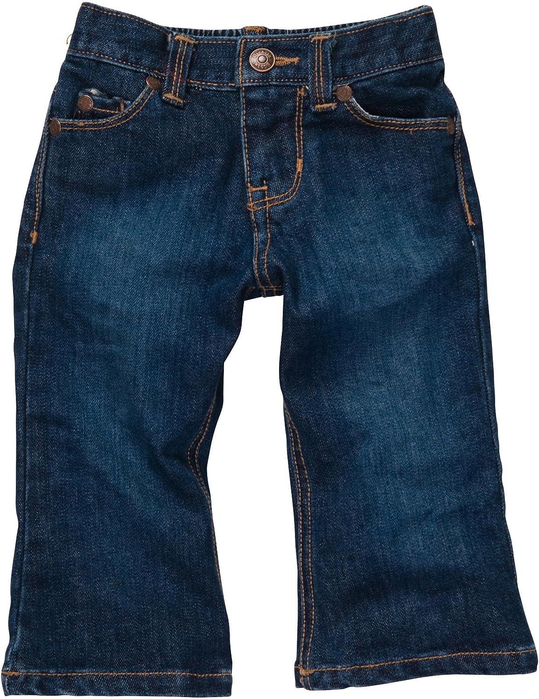 OshKosh Girls' Boot 5 ☆ very popular Cut E-Z Ranking TOP6 Jeans Waist Adjust Premium Denim