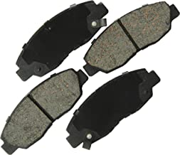 Bosch BE465A Blue Disc Brake Pad Set for Select 1997-2005 Acura EL and 1996-2011 Honda Civic Vehicles - FRONT