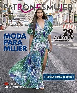 Revista PATRONESMUJER nº2. 29 patrones de ropa para mujer.