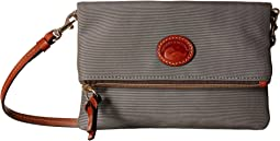Dooney & Bourke Nylon Fold-Over Zip Crossbody