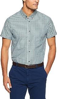 Oxford Men Tottenham Short Sleeve Printed Shirt