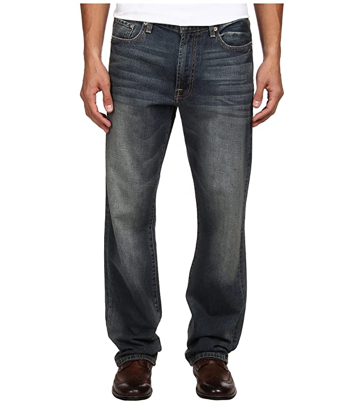 Lucky Brand  181 Relaxed Straight in Wilder Ranch (Wilder Ranch) Mens Jeans