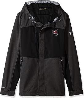 Under Armour NCAA Men's Softshell Jacket, Black, Medium