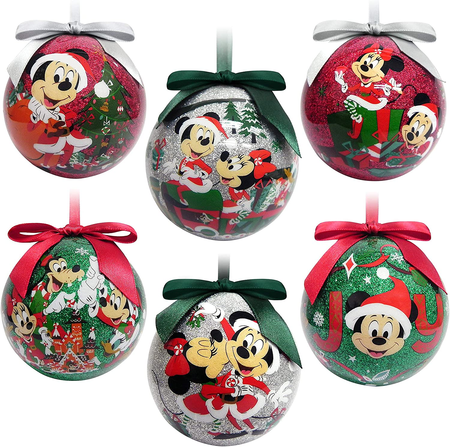 Disney Mickey Mouse and Friends Sketchbook Ball Ornament Set