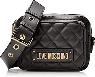 14cf0eee4ac6d Love Moschino Women's Quilted Nappa Pu Cross-Body Bag