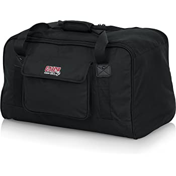 "Gator Cases Heavy-Duty Speaker Tote Bag for Compact 10"" Speaker Cabinets; Fits QSC K10, Yamaha DXR10 and more (GPA-TOTE10)"