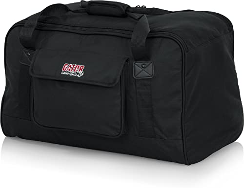 """Gator Cases Heavy-Duty Speaker Tote Bag for Compact 10"""" Speaker Cabinets; Fits QSC K10, Yamaha DXR10 and more (GPA-TO..."""