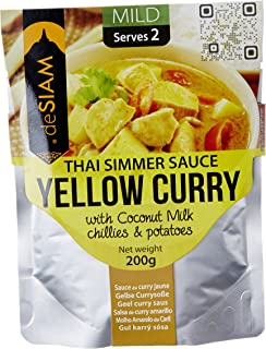 DE SIAM Yellow Curry Sauce, 200 gm