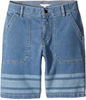 Little Marc Jacobs - Denim Effect Shorts (Big Kids)