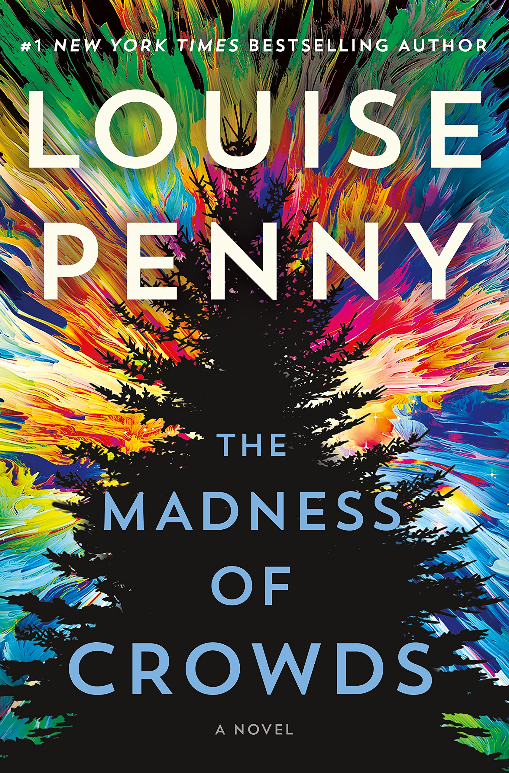 Cover image of The Madness of Crowds by Louise Penny