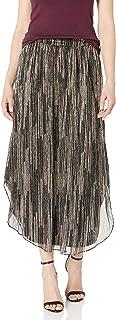 Women's Lenon Metallic Midi Skirt