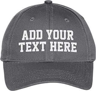 c3954e91 Custom Embroidered Youth Hat - ADD Text - Personalized Monogrammed Cap