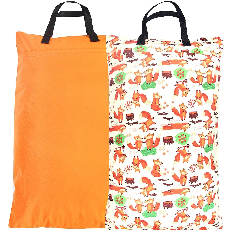 Wegreeco Reusable Hanging Wet Arlington Mall Jacksonville Mall Dry Cloth 2 Pack Oran Diaper Bag