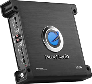 Planet Audio AC1200.4 4 Channel Car Amplifier - 1200 Watts, Full Range, Class A/B, 2-4 Ohm Stable, Mosfet Power Supply, Br... photo