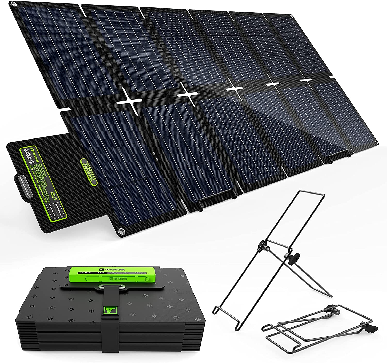 Topsolar SolarFairy 100W Very popular! Portable Foldable Charger Panel Solar Regular dealer K