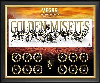 Vegas Golden Knights 2017-18 Inaugural Season Framed Autographed 43
