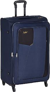 35d33332df7 Skybags Rubik Polyester 78 cms Blue Softsided Check-in Luggage (STRUB78EBLU)