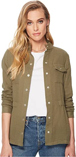 Jack by BB Dakota - Burnell Cotton Gauze Utility Jacket