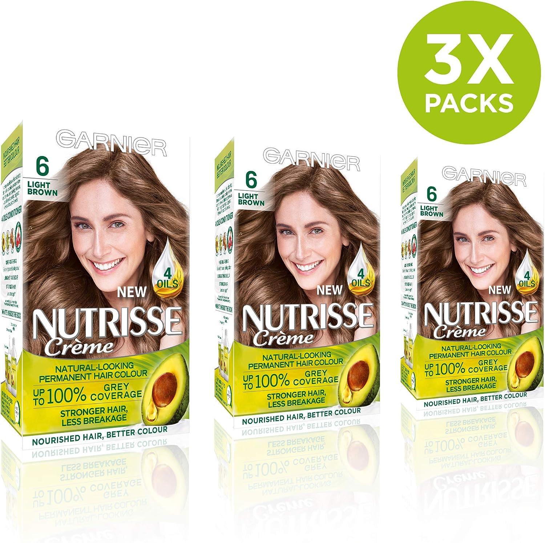 Garnier Nutrisse - Tinte para el cabello permanente, Deep Red ...