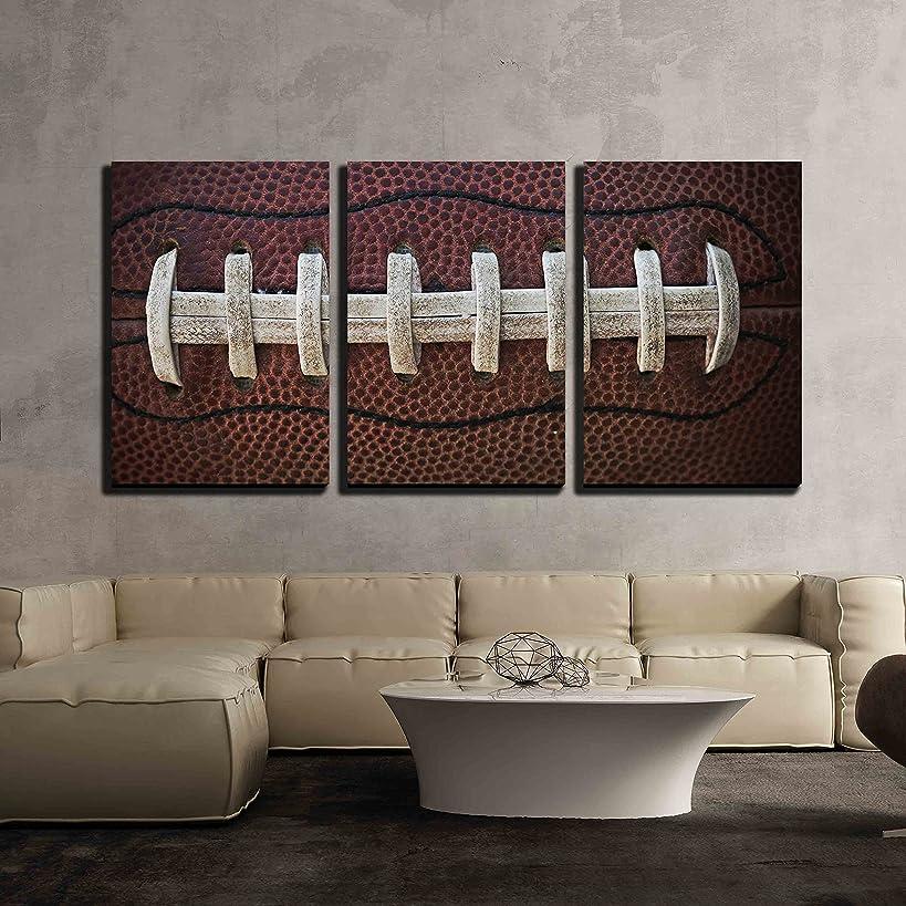 wall26 - American Football Laces - Canvas Art Wall Decor - 16