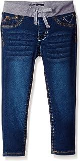 Vigoss Girls'  Knit Waist Skinny Denim Jean