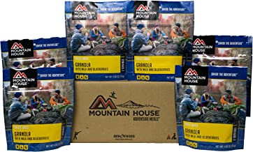 Mountain House Granola with Milk & Blueberries 6-Pack