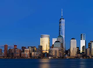 Wooden Jigsaw Puzzle One World Trade Centre Manhattan Night New York City USA 500-Pieces