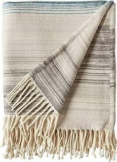 Rivet Modern Ombre Effect 100% Cotton Lightweight Throw Blanket, 50
