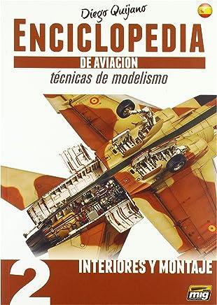 AMMO MIG-6061 Enciclopedia Modelismo - Tecnicas De Aviacion - Vol.2 - Interiores